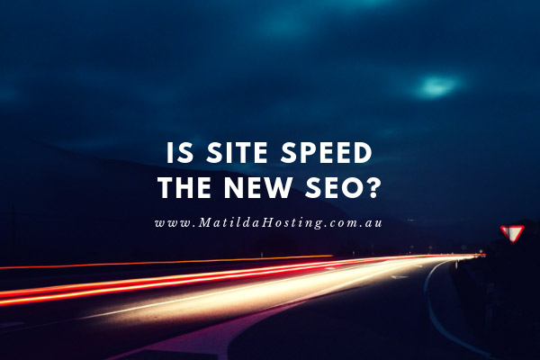 Site speed is important for SEO purposes - image