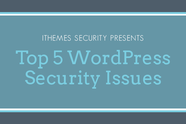 5 common WordPress security issues - image