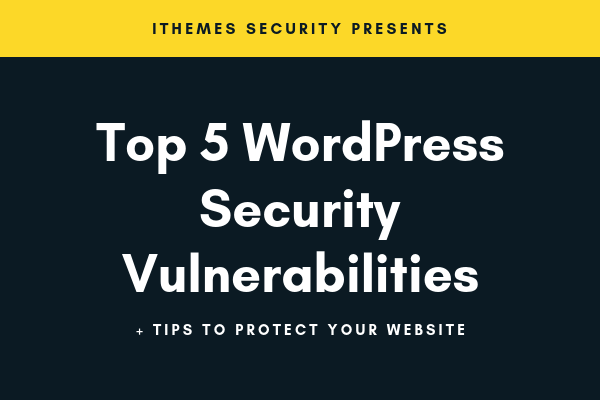 5 common WordPress security vulnerabilities - image