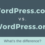 The differences between Wordpress.com and Wordpress.org- image